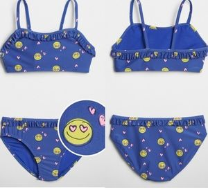 GAP Big Girls Ruffle Two-Piece Swimsuit